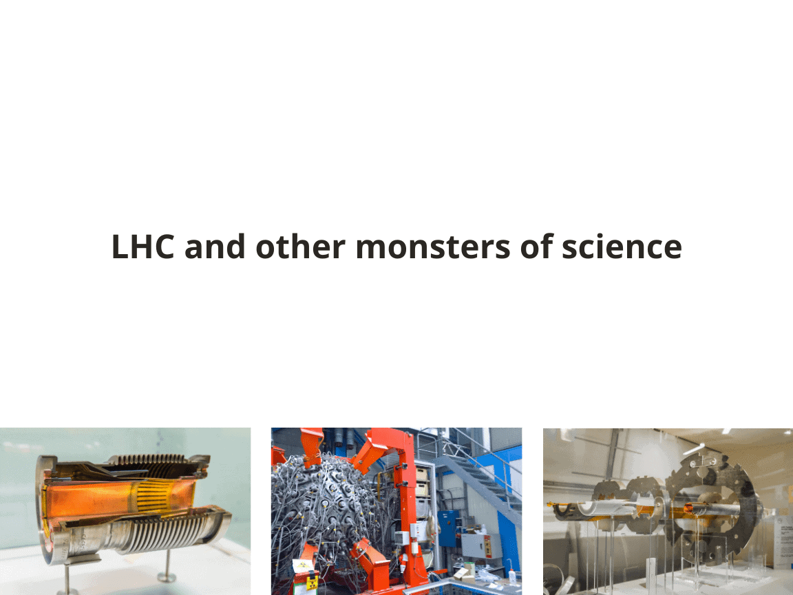 LHC and other particle accelerator