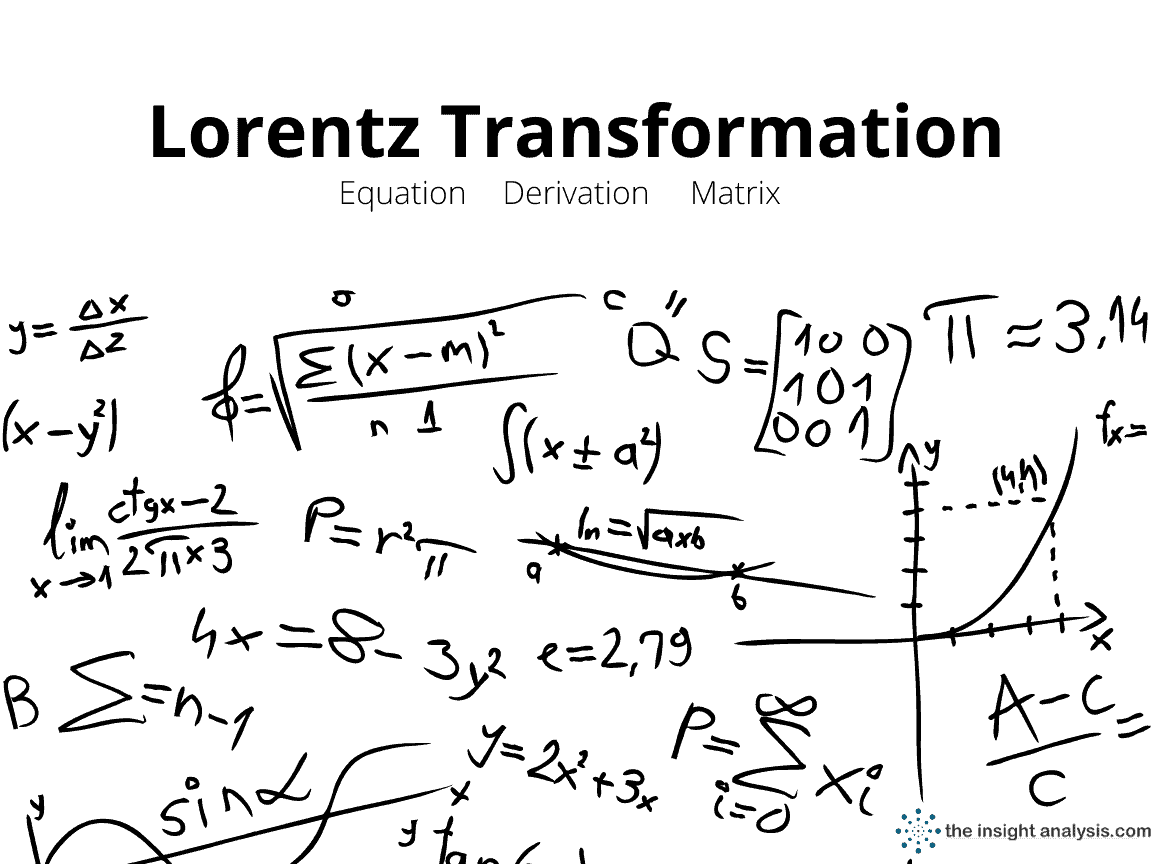 Lorentz Transformation Equation & Derivation