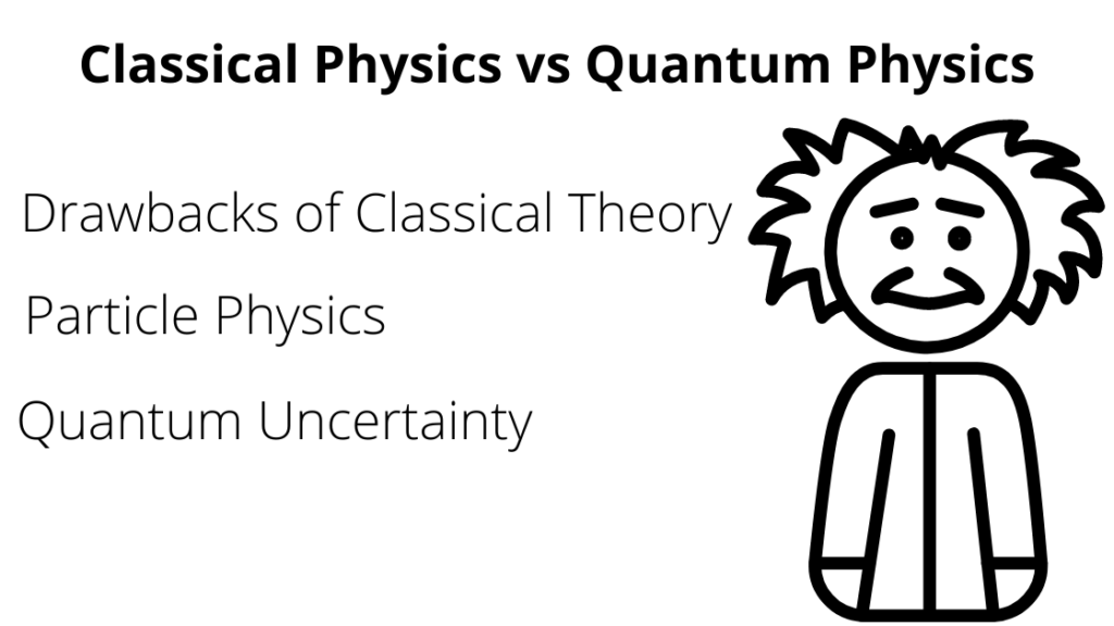 classical physics vs quantum